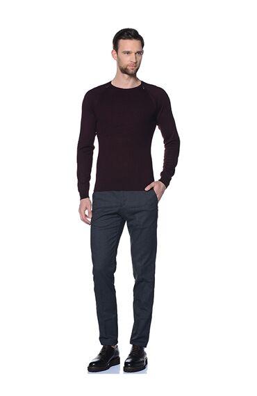 Antrasit Smart Casual Pantolon