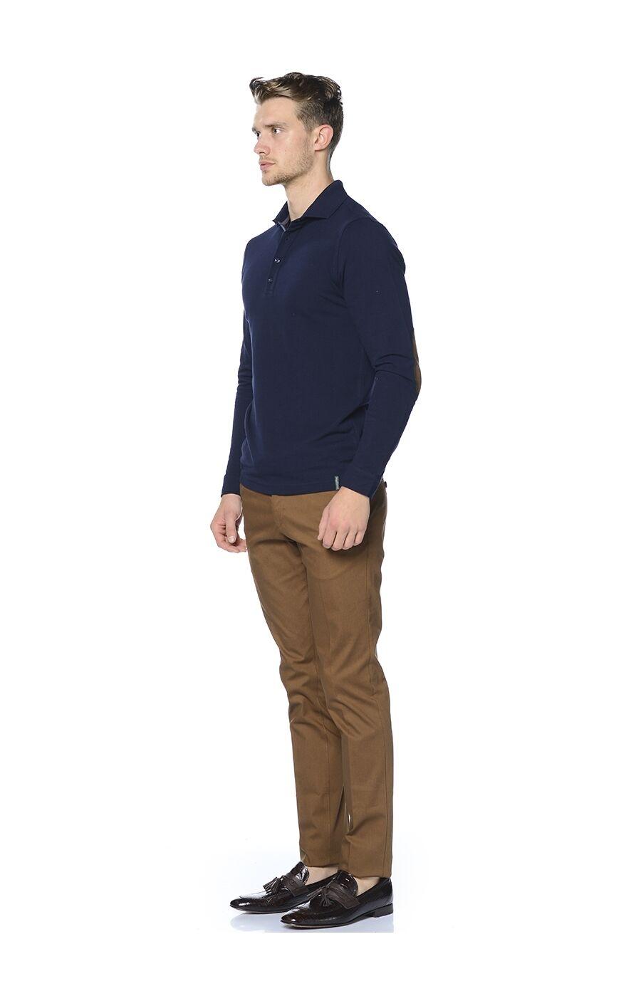Lacivert Pamuklu Tshirt