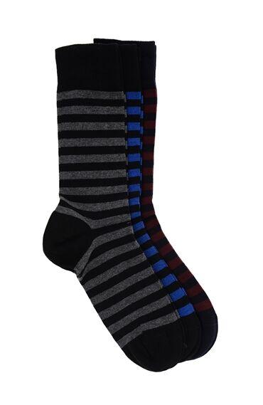 Siyah 3 Lü Çorap Seti