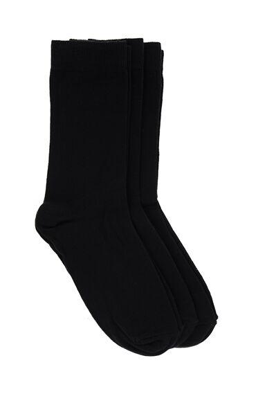 Siyah Üçlü Çorap Seti