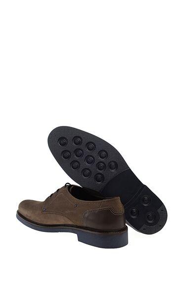 Kahverengi Nubuk Deri Ayakkabı