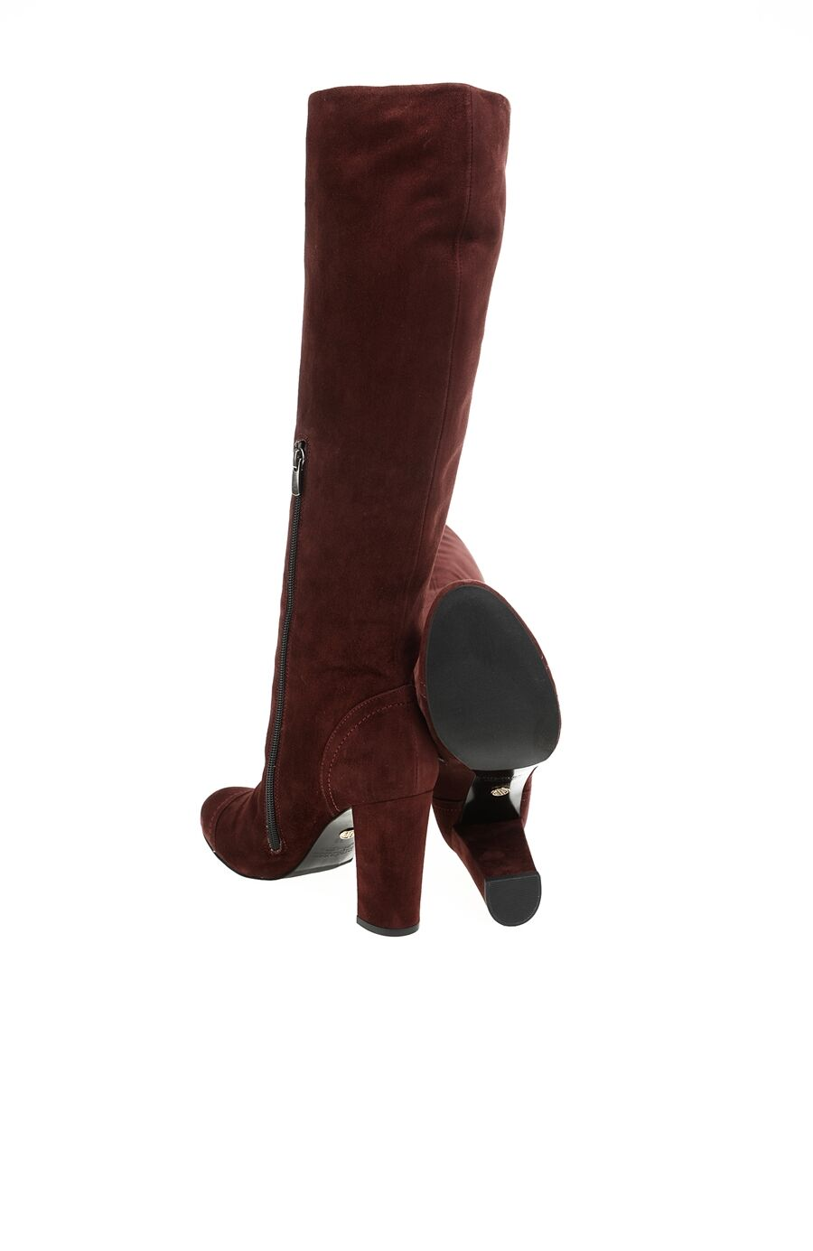 Bordo Süet Çizme