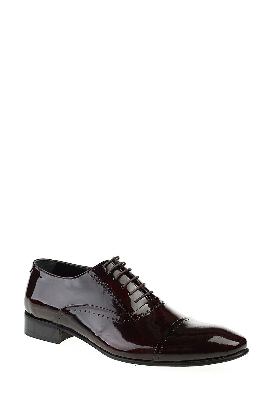 Bordo Parlak Deri Ayakkabı