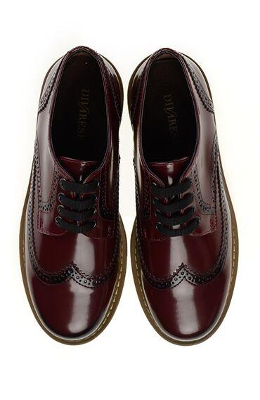 Bordo Smart Casual Ayakkabı