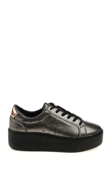 Bronz Paltform Ayakkabı