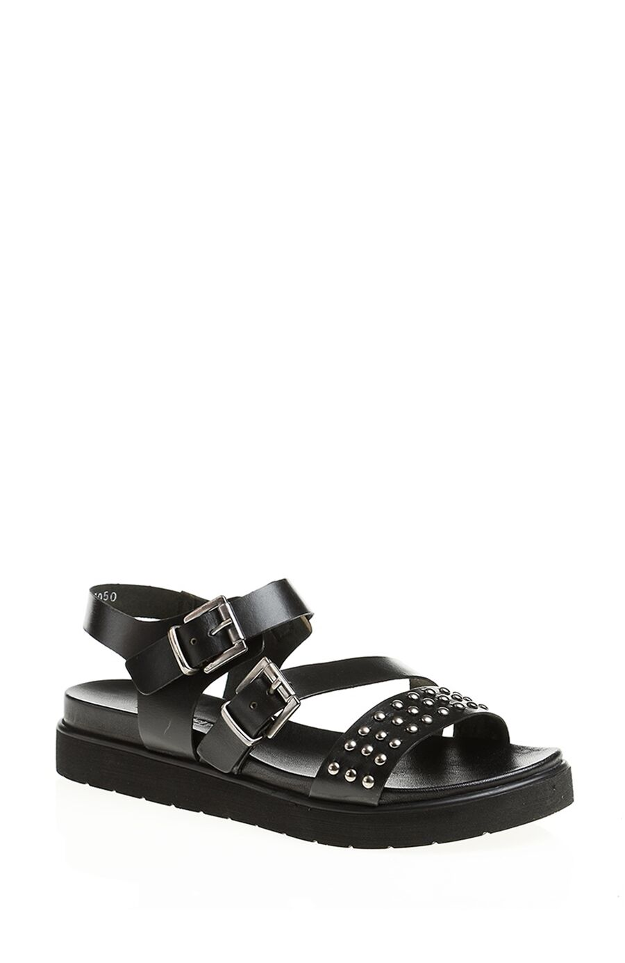 Dıvarese Trok Detaylı Siyah Sandalet – 105.0 TL