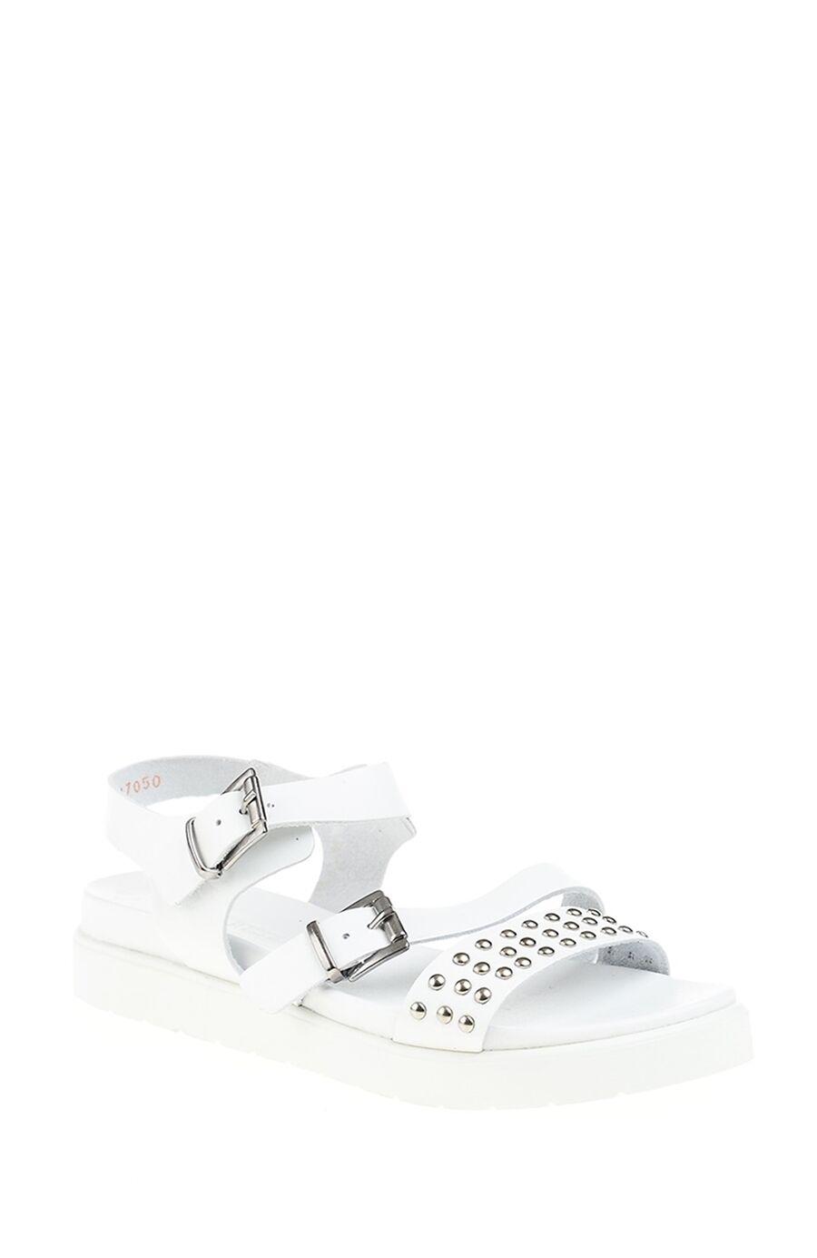 Dıvarese Trok Detaylı Beyaz Sandalet – 105.0 TL