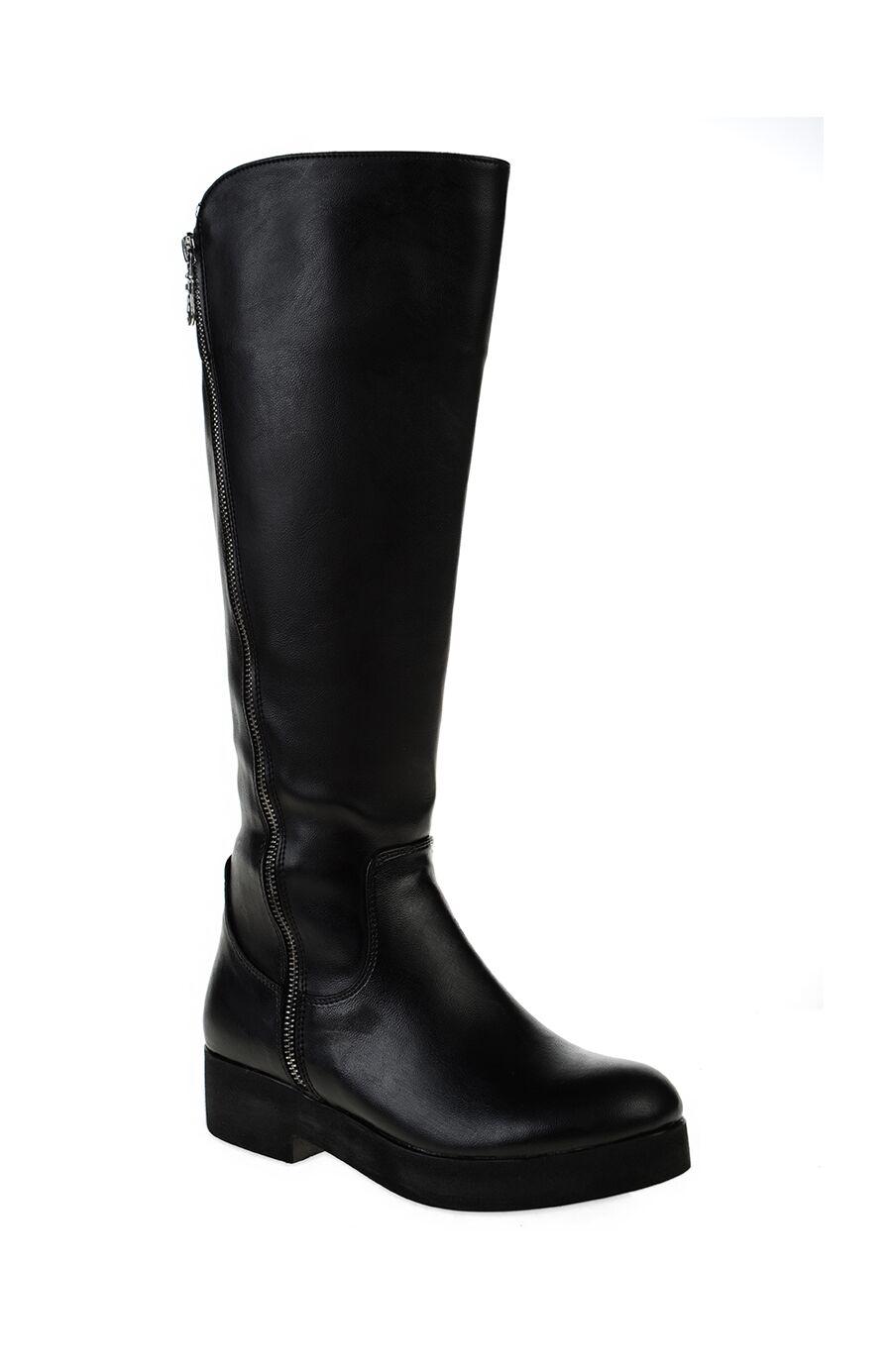 Dıvarese Siyah Fermuarlı Çizme – 149.0 TL