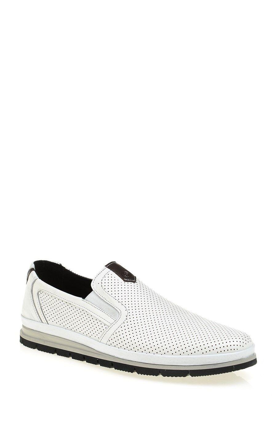 Beyaz Deri Ayakkabı