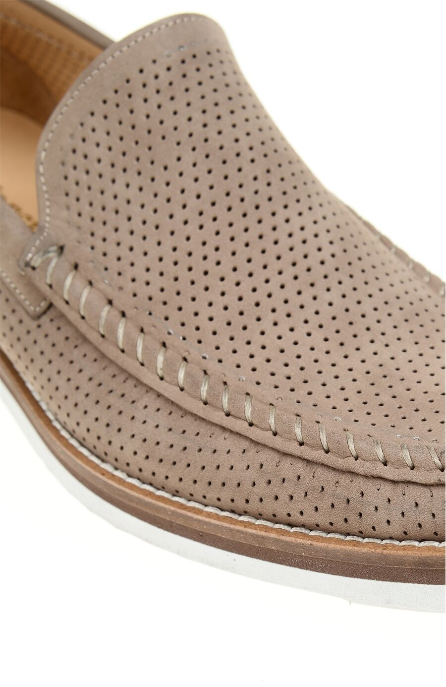 Nubuk Vizon Loafer