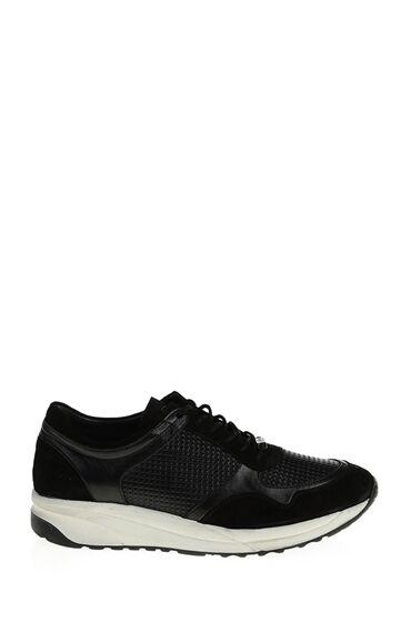 Siyah Deri Giro Sneaker