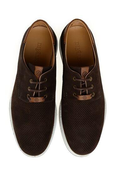 Kahverengi Deri Ayakkabı