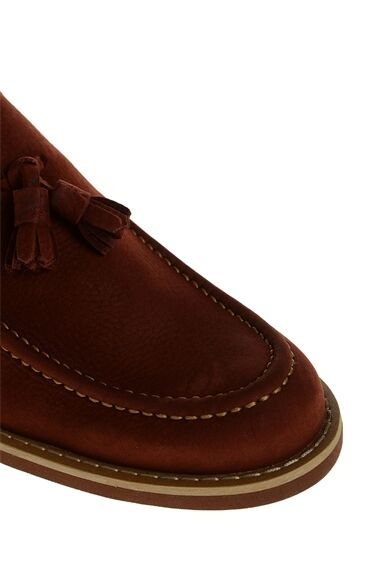 Nubuk Bordo Loafer