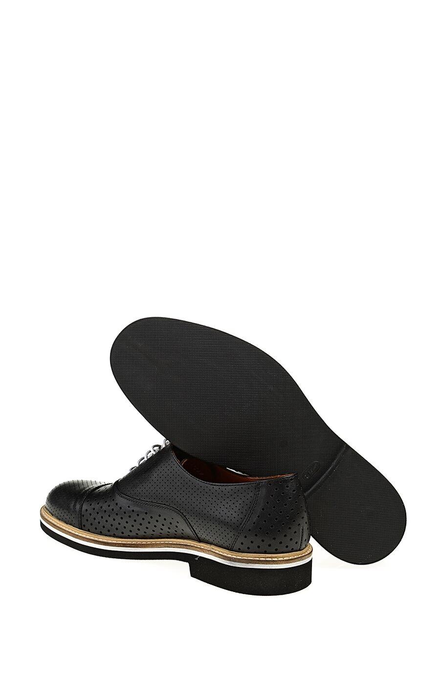 Bağcıklı Siyah Deri Sneaker
