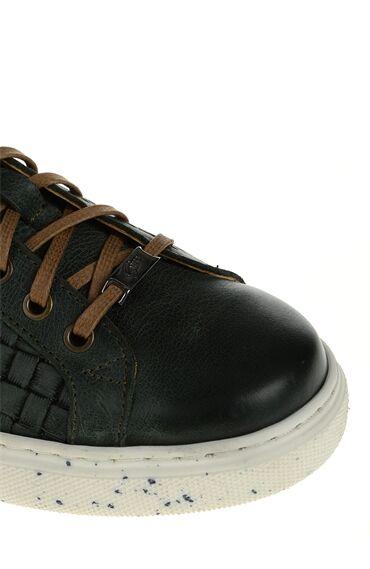 Haki Deri Giro Sneaker