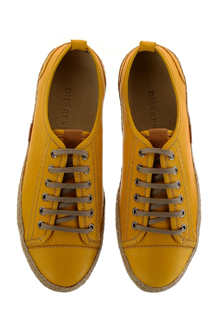 Bağcıklı Sarı Ayakkabı
