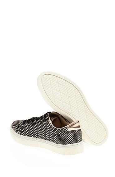 Trok Detaylı Bağcıklı Sneaker