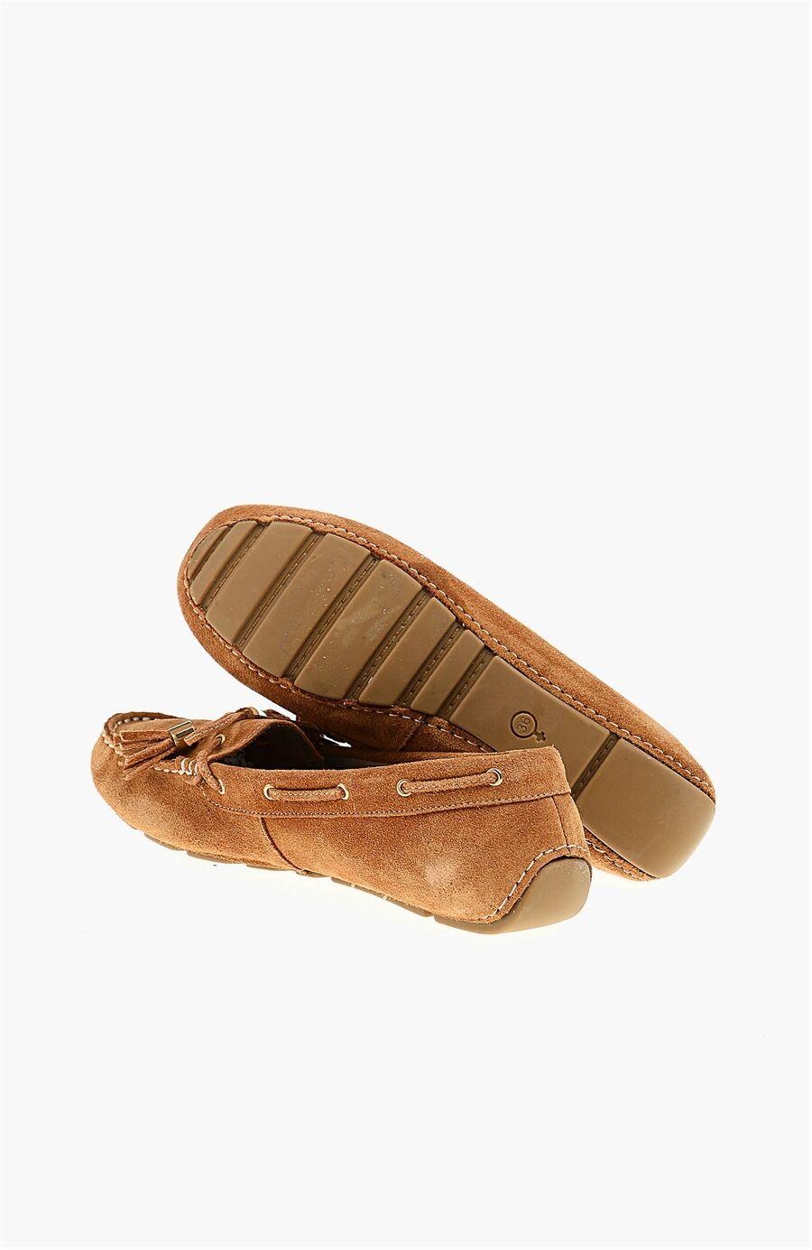 Süet Taba Loafer Ayakkabı