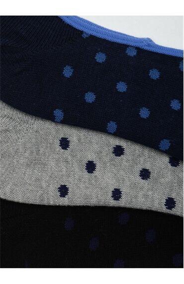 Puantiyeli 3 Lü Çorap Seti