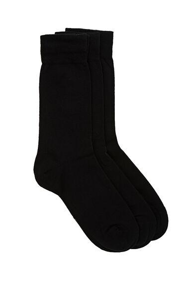 3'lü Siyah Çorap Seti