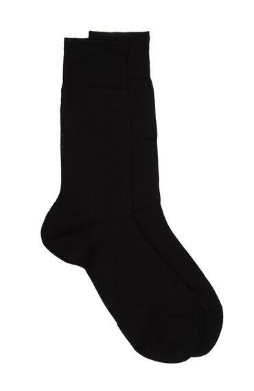 Bamboo Siyah 2'li Çorap Set