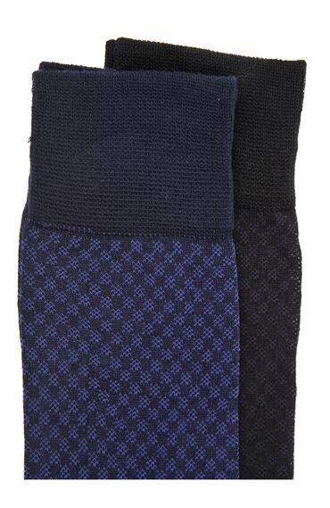 2 Li Desenli Çorap Seti
