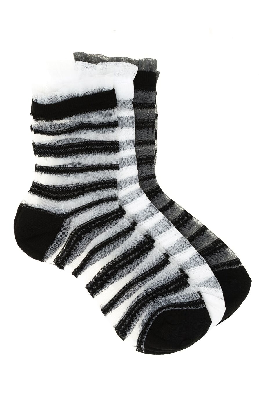 3'lü Çizgili Çorap Seti