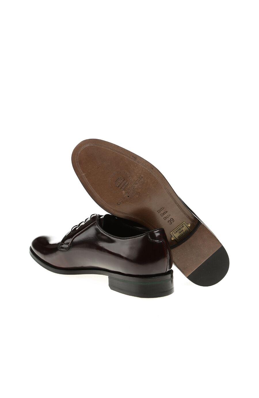 Bordo Rugan Bağcıklı Ayakkabı