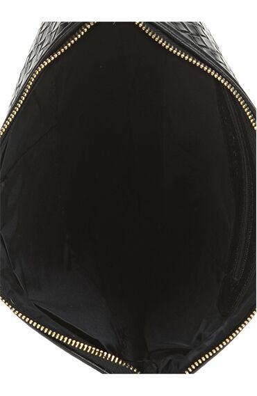 Örme Siyah Clutch