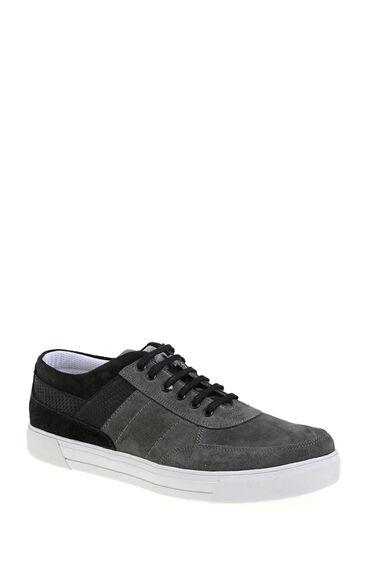 Gri-Siyah Süet Sneaker