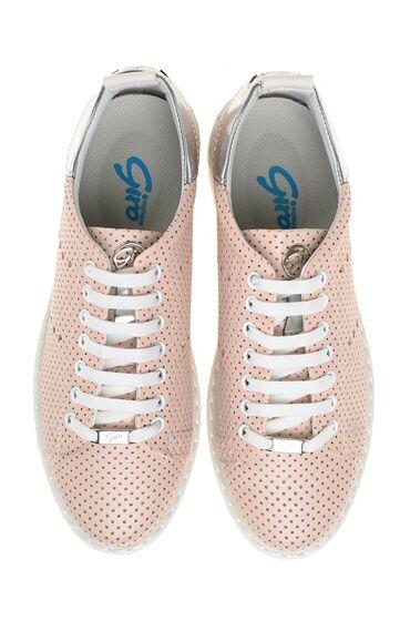Yıldız Detaylı Pembe Sneaker