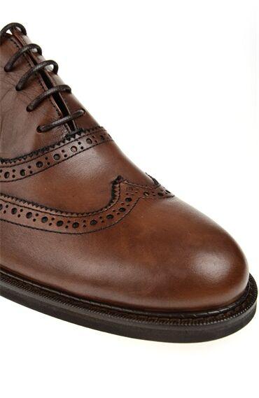Zımba Detaylı Taba Ayakkabı