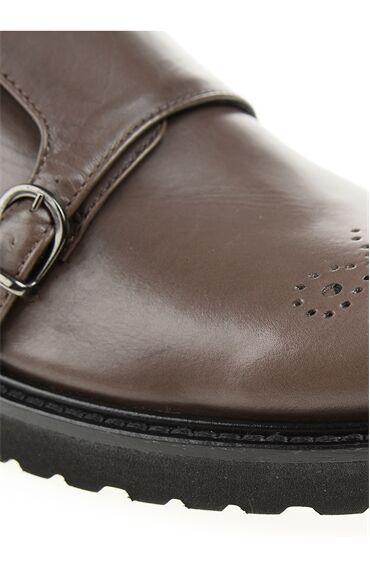 Toka Detaylı Vizon Ayakkabı