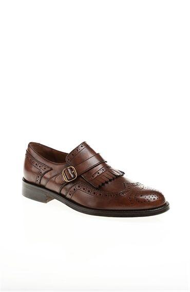 Püskül Detaylı Taba Ayakkabı