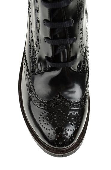 Zımba Desenli Siyah Bot