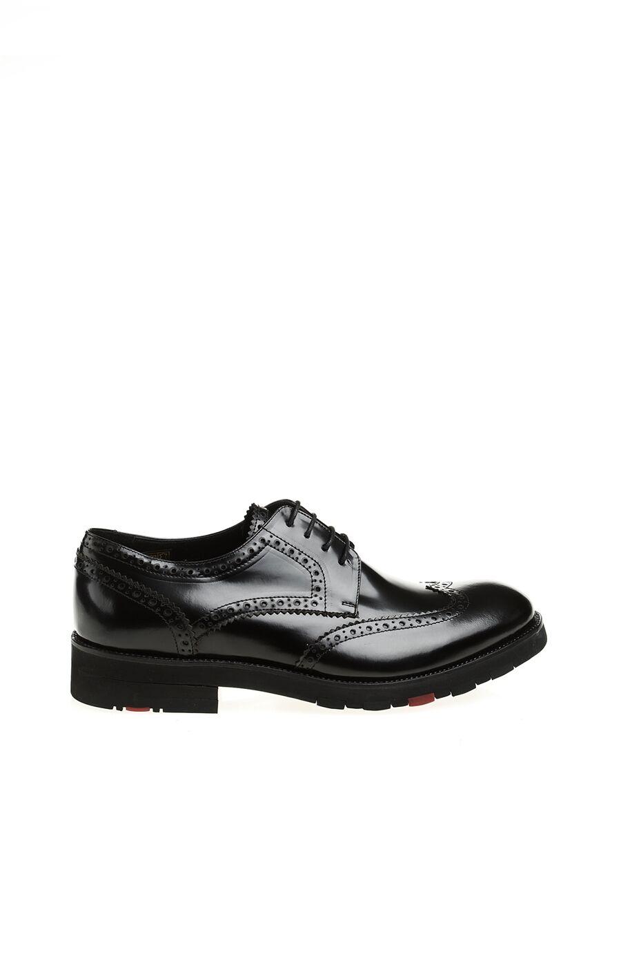 Zımba Detaylı Deri Ayakkabı