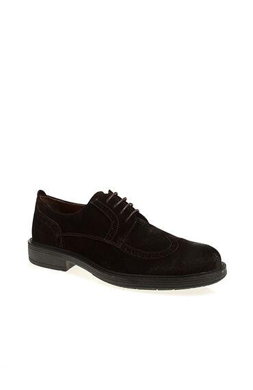 Zımba Desenli Süet Ayakkabı