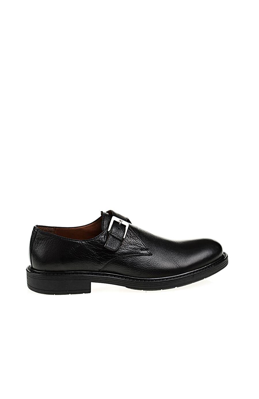 Toka Detaylı Siyah Ayakkabı