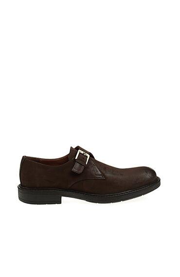 Toka Detaylı Kahverengi Ayakkabı