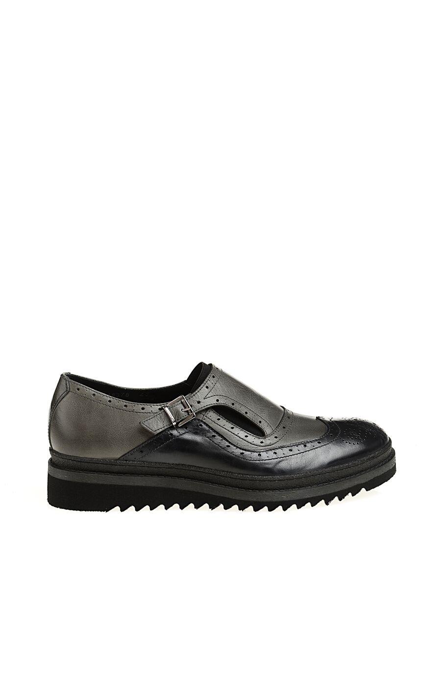 Zımba Desenli Antrasit Ayakkabı