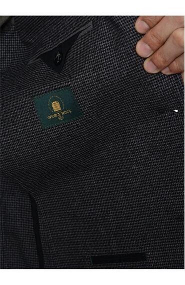 Antrasit Yelekli Takım Elbise