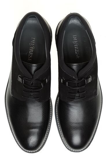 Antrasit Deri Ayakkabı