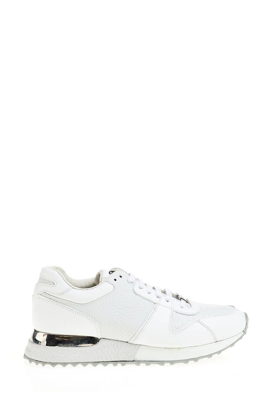 Beyaz Deri Sneakers