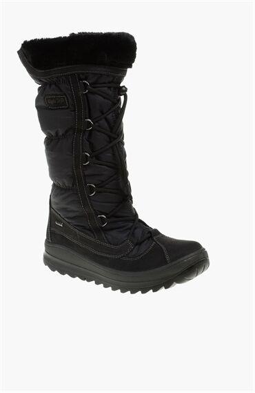 Nubuk Siyah Çizme