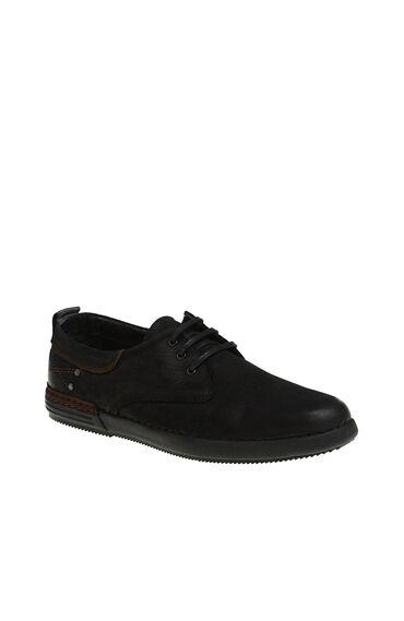 Siyah Nubuk  Ayakkabı