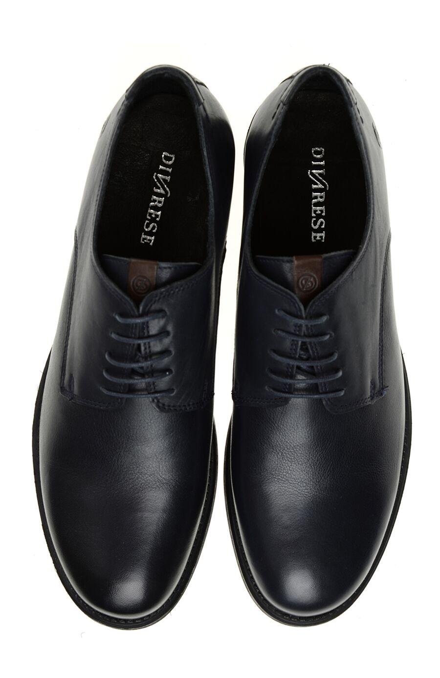 Lacivert Deri Ayakkabı