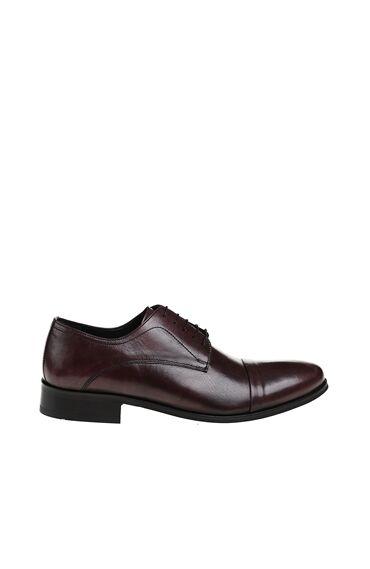 Bağcıklı Bordo Ayakkabı