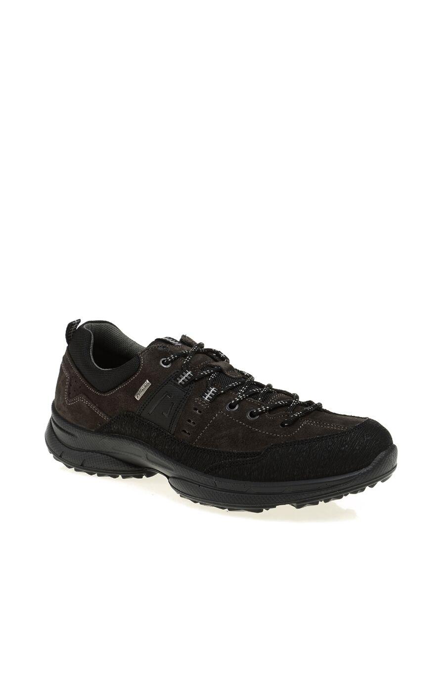 Bağcıklı Deri Sneaker