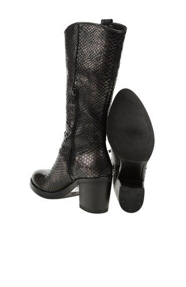 Yılan Derisi Efektli Çizme