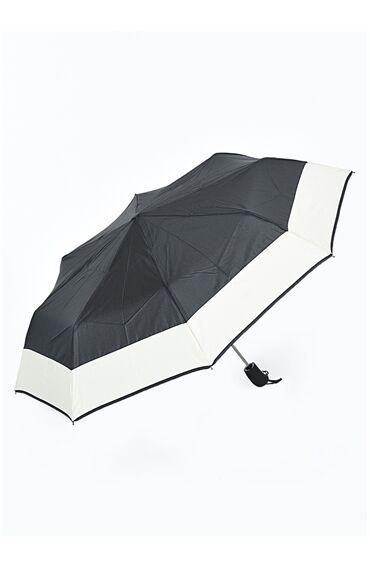 Siyah Bej Şemsiye